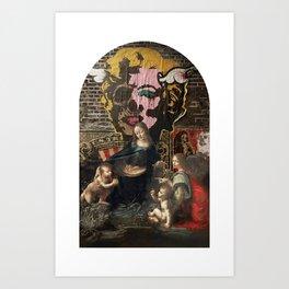 vergine maria Art Print