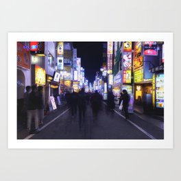 Ghosts of Tokyo, p1 Art Print