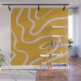 Caramel Wood Wall Mural