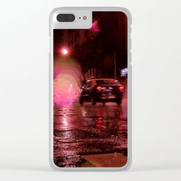 Last night in Baires Clear iPhone Case