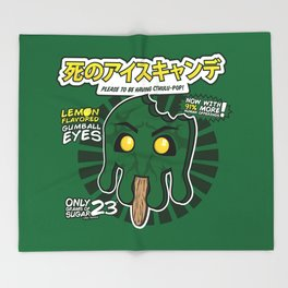 Cthulu-Pop Throw Blanket