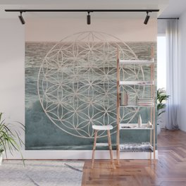 Mandala Flower of Life Sea Wall Mural
