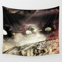 shell Wall Tapestries featuring Shell by SteeleCat