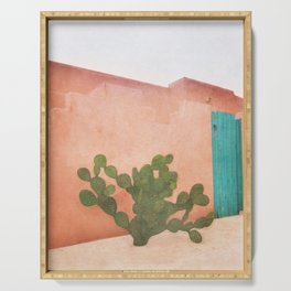 Strong Desert Cactus Serving Tray