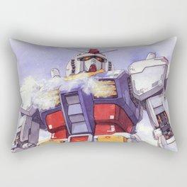 Gundam Rx-78-2 watercolor (large ver.) Rectangular Pillow