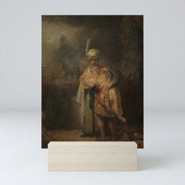 Rembrandt - Separation of David and Jonathan Mini Art Print