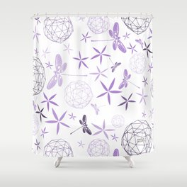 CN DRAGONFLY 1009 Shower Curtain