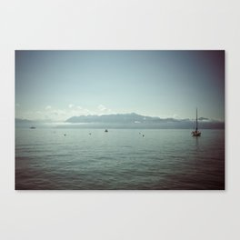 LAUSANNE / SWITZERLAND Canvas Print
