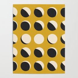 Moon Phased in Honey Poster