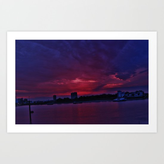 Sunset III Art Print