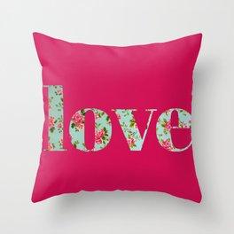 Amor a la antigua Throw Pillow