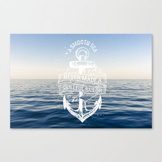 Sea Quote Canvas Print