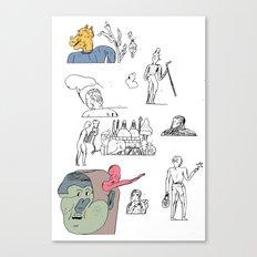 jikjikjik Canvas Print