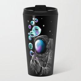 Astronauts and Bubble World Travel Mug