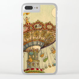 Swing Ride Clear iPhone Case