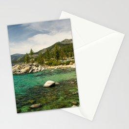 Sand Harbor, Lake Tahoe Stationery Cards