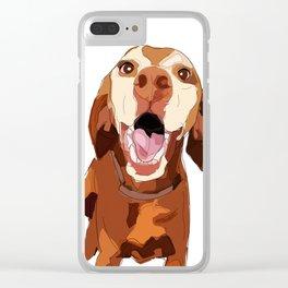 Beautiful Vizsla Clear iPhone Case