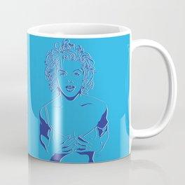 Lady in Blue Coffee Mug