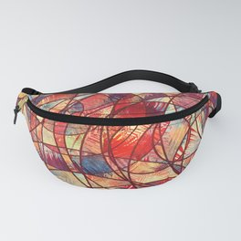 Wheels Of Life 10 Fanny Pack