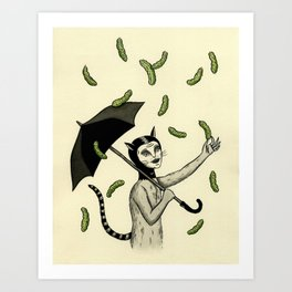 Pickles Art Print