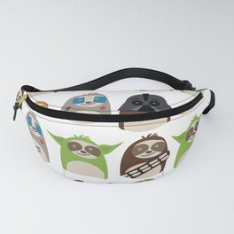 Science Fiction Sloths Fanny Pack