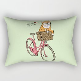 Take Me for a Ride Rectangular Pillow