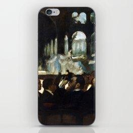 Edgar Degas The Ballet from Robert le Diable iPhone Skin