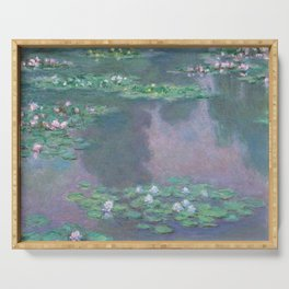 Water Lilies Monet 1905 Serving Tray