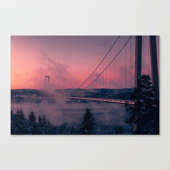 Cool Mornings Canvas Print