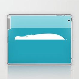 White hippo Laptop & iPad Skin