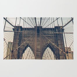 Brooklyn Bridge New York City Rug