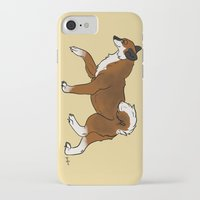 shiba iPhone & iPod Cases featuring Shiba Inu by RoseArtStudios