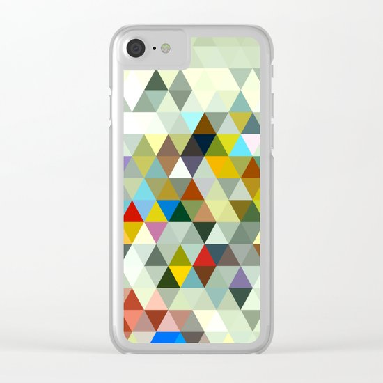 Awesome Triangle Clear iPhone Case