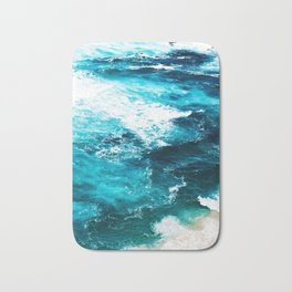 Sea Foam #society6 #decor #buyart Bath Mat