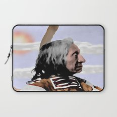 Chief Red Cloud. Oglala Lakota. 1898 COLOR - 026c Laptop Sleeve