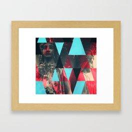 Two Ladies Framed Art Print