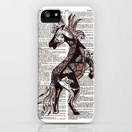 Fierce (Lunar New Year 2014 Horse) iPhone Case