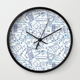 School Chemical #3 Wall Clock