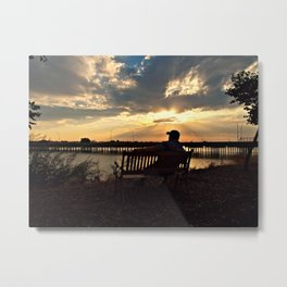 Patiently waiting for your love... Metal Print