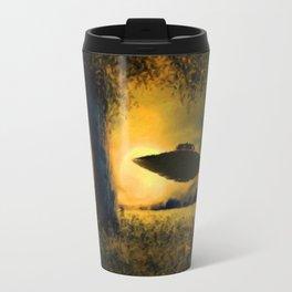 UFO at Twilight Travel Mug