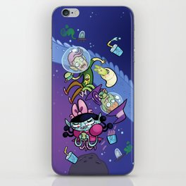 Luna the Vampire - Snack time! iPhone Skin