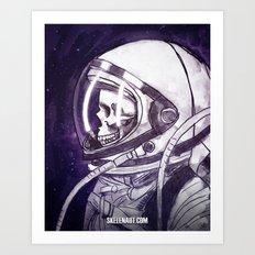 Skelenaut II Art Print