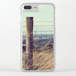 High on the Hill Clear iPhone Case