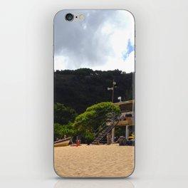 Waimea Bay Beach, Hawaii iPhone Skin