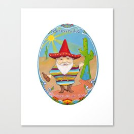Mexican Gnome Canvas Print