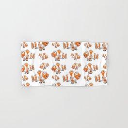 Happy Orange Fish Hand & Bath Towel