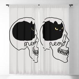 Cat Landscape 67: Cat People Blackout Curtain