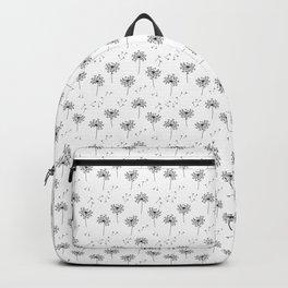 Dandelions in Black Backpack