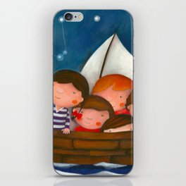 At the sea iPhone Skin