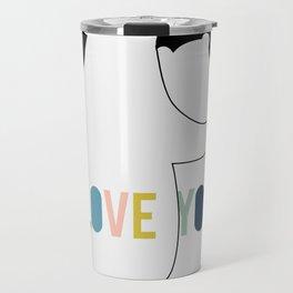 Love you forever - bears Travel Mug